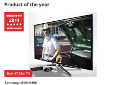 "Samsung Series UE55H6400AK 55"" 3D 1080p FHD 3D LED Internet Smart TV"