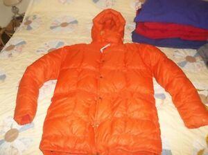 Eddie Bauer Karakoram USA Goose Down Himalayan DOUBLE Parka Jacket Coat NICE
