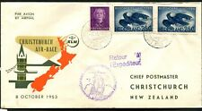 NETHERLANDS - 1953 'KLM AIR RACE - HOLLAND to NEW ZEALAND'   [A6606]