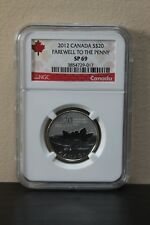 2012 $20 Farewell to the Penny (Special Strike) NGC SP69