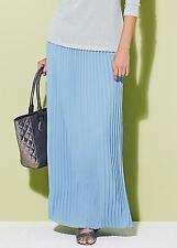 KALEIDOSCOPE PASTEL BLUE PLEAT MAXI SKIRT SIZE 12 BNWT