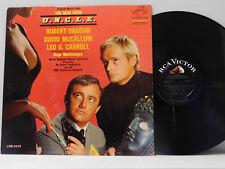 The Man From U.N.C.L.E. soundtrack LP   RCA VG+ mono