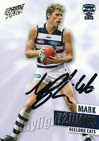 ✺Signed✺ 2013 GEELONG CATS AFL Card MARK BLICAVS