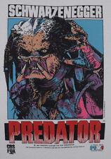 1987 PREDATOR t-shirt vtg 80s cult horror movie Schwarzenegger screen stars M/L
