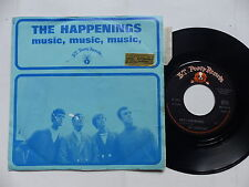 THE HAPPENINGS Music music music BT PUPPY RECORDS 603