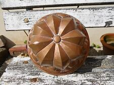 Ancien moule à gâteau pâtisserie en cuivre marque DDD 99