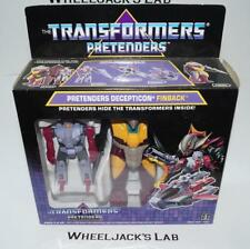 Finback Pretender MOSC NEW Unused Sealed 1988 G1 Transformers Vintage Hasbro