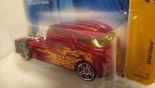 Hot Wheels 2006 New Models #17 QOMBEE red with flames   vw volkswagen kombi