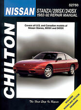 52750 New Chilton Repair Manual Nissan Stanza, 200SX, 240SX  1982-92