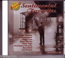 SENTIMENTAL FAVORITES Flashback CD Classic 60s Rock PEGGY LEE DINAH WASHINGTON