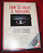 STAR TREK  How to Host a Mystery The Next Generation Special Edition