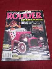 AMERICAN RODDER #62 - EXHAUSTS - July 1994