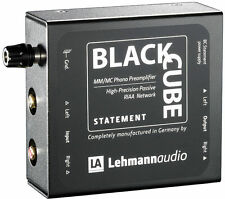 LEHMANN AUDIO BLACK CUBE STATEMENT PRE PHONO HI-END NUOVO GARANZIA ITALIA