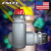 BPA-free Plastic PP5 MTB Bike Water Bottle Portable Leakproof Drink Cup 650ml
