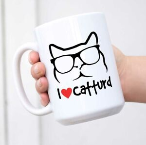 I Love Catturd Coffee Mug