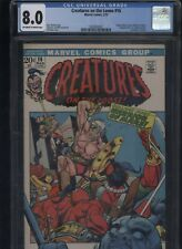Creatures on the Loose #16 CGC 8.0 Gil Kane BILL EVERETT 1972