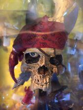 Metallica Damage Pirate Pushead Skull Statue Figurine In Box Sealed 2003!