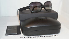 Dolce & Gabbana D&G New Sunglasses Black/Black DG4185PD 26598G 59 16 135