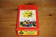 Vintage Tarot Cards 1JJ AG MULLER 1970 SWITZERLAND 78 Card deck & instructions