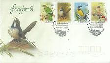 2009 Songbirds set of 4 Fdi 9 Sept Birdwood Sa 5234 Special P/Mark