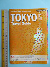 Free Ship Tokyo Travel Guide Brochure English 85 pages With 19 Area Maps Japan