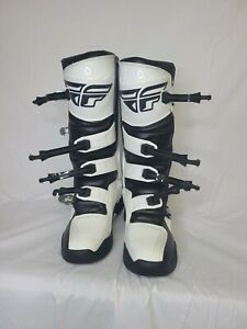 Fly Racing FR5 Boot (SZ 12, White)