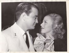 GINGER ROGERS LEW AYRES Original CANDID Vintage DON'T BET ON LOVE Press Photo