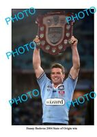 6 x 4 PHOTO DANNY BUDERUS 2004 NSW STATE OF ORIGIN SERIES WIN PHOTO
