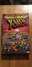 X-MEN THE FALL OF THE MUTANTS~OHC MARVEL OMNIBUS HARDCOVER**PENNY AUCTION (1¢)**