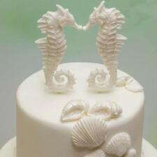 Sea Horse Fondant Molds Chocolate Mould Flexible Silicone Soap Mold Y