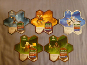Heroscape Expansion Wave 8 (Defenders of Kinsland), Pre-Owned, Free Shipping