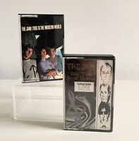THE JAM THIS IS THE MODERN WORLD & DIG THE NEW BREED CASSETTE TAPES X 2 Polydor