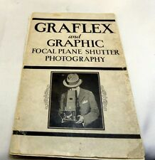 Graflex and graphic Focal Plane Shutter Photography Guide  (EN) English