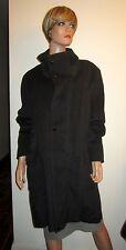 NWT Samuel Dong XL Black Anorak Coat Belt Super Soft Faux Cashmere! $379