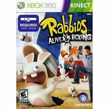 Rabbids: Alive & Kicking Xbox 360   new