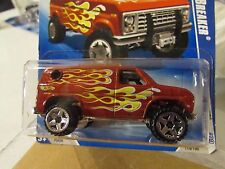 Hot Wheels Baja Breaker Heat Fleet Red