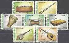 Timbres Musique Guinée Bissau 535/41 ** lot 17947