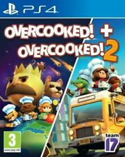Overcooked & Overcooked 2 Double Pack PS4 **BRAND NEW SEALED FREE POSTAGE**