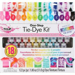 Tulip One Step Tie-Dye Kit - Party Set of 18 Colours / 36 Projects