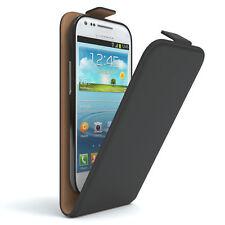 Tasche für Samsung Galaxy S3 Mini Flip Case Handy Schutz hülle Cover schwarz