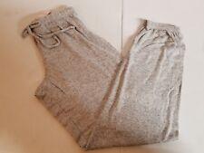 Victoria's Secret PINK Women's Cozy Sleep Pants Light Grey Size Small NEW