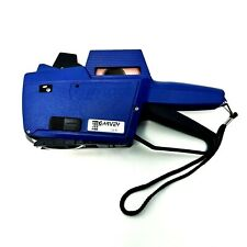Garvey Contact 1 Line Price Labeler Gun Model 18 6 Blue
