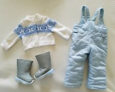 American Girl Chrissa Snow Pants, Boots  Winter Outfit