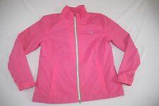 Puma Windbreaker Jacket Lined Girls XL NEW Pink