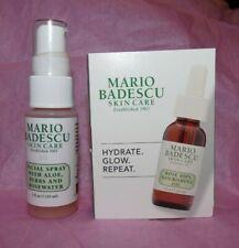 New Mario Badescu Rose Hips Oil & Facial Spray w/ Aloe, Herbs & Rosewater Travel