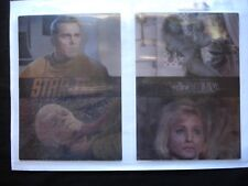1999 RITTENHOUSE *STAR TREK TOS IN MOTION* COMPLETE 24 CARD PROMO SET (1 OF 500)