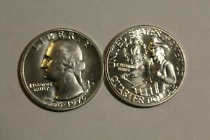 BU 1976-S Washington Bicentennial 40% SILVER Quarter