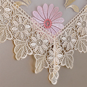 Lace Table Runner Furniture Dust Covers Home Dining Decor Embroidery Floral Chic