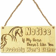 Funny Horse Gifts For Women Hanging Sign Horse Gift For Girls Horse Accessories