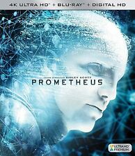 PROMETHEUS  (4K ULTRA HD) - Blu Ray -  Region free